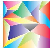 传染媒介多角形摘要多角形几何三角背景 免版税库存图片