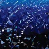 传染媒介多角形 抽象多角形几何三角背景 库存照片
