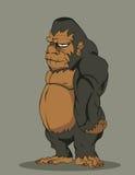 传染媒介大猩猩 免版税图库摄影