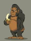 传染媒介大猩猩 免版税库存图片