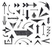传染媒介套各种各样的箭头象,商标 向量例证
