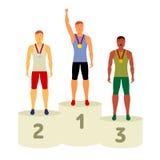传染媒介奥林匹克属性 向量例证