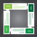 传染媒介工作、抽象泡影标记的设计和创造性的工作 免版税图库摄影
