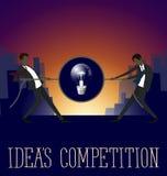 传染媒介平的企业概念 库存照片