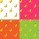 传染媒介平的果子无缝的样式 库存图片