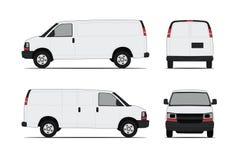 传染媒介微型货车 免版税库存照片