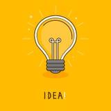 传染媒介想法概念- 免版税图库摄影