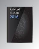 传染媒介年终报告2016年 免版税库存图片