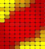 传染媒介抽象五颜六色的马赛克背景 免版税库存图片