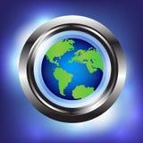 传染媒介抽象全球性技术背景 库存图片