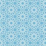 传染媒介抽象几何伊斯兰教的背景 基于种族回教装饰品 交错的纸条纹 向量例证