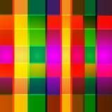 传染媒介抽象几何多色背景 库存照片