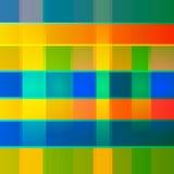传染媒介抽象几何多色背景 免版税库存图片