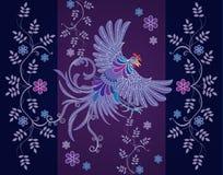 传染媒介抽象纺织品设计 免版税库存照片