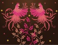 传染媒介抽象纺织品设计 免版税图库摄影