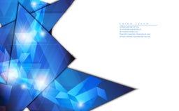 传染媒介抽象背景几何形状模板设计高科技概念 免版税图库摄影
