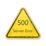 传染媒介抽象背景500连接错误服务器 免版税库存照片