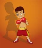 传染媒介拳击 免版税库存照片