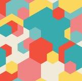 传染媒介无缝的几何样式 免版税图库摄影
