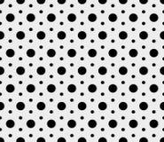 传染媒介无缝的圆点样式 库存图片
