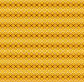 传染媒介无缝的样式,被构造的金子 图库摄影