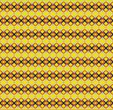 传染媒介无缝的样式,被构造的金子 库存图片