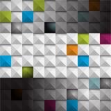 传染媒介无缝的现代瓦片样式企业背景 库存照片