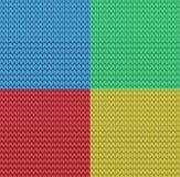 传染媒介无缝的被编织的样式背景 图库摄影