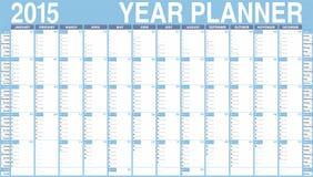 传染媒介日历在2015年。 库存照片