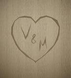 传染媒介木板条纹理情人节组合图案 免版税图库摄影