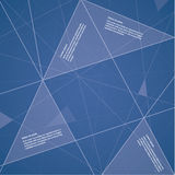 传染媒介未来派模板。五颜六色的背景。 库存图片