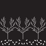 传染媒介树样式 库存图片
