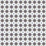 传染媒介样式-几何无缝的简单的现代纹理 免版税库存照片