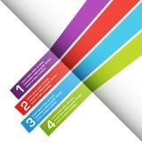传染媒介模板设计 免版税库存照片