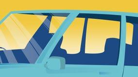传染媒介汽车横幅的背景模板做广告,模板,项目 免版税图库摄影