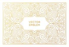 传染媒介海报设计模板,婚姻的邀请 库存照片