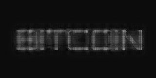 传染媒介灰色极谱Bitcoin词修建与数字 Bitcoin, blockchain调动 计算机编码表示法 库存例证