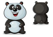 传染媒介熊猫 库存图片