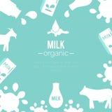 传染媒介牛奶店例证 向量例证