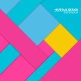 传染媒介物质设计背景 抽象创造性的概念布局模板 对网和流动app,纸艺术 库存照片