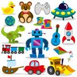 传染媒介玩具集合 免版税库存照片
