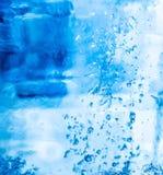 传染媒介现实冰纹理 图库摄影