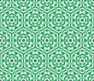 传染媒介现代无缝的五颜六色的几何多角形样式 库存照片