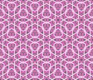 传染媒介现代无缝的五颜六色的几何样式 库存照片