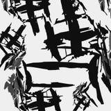 传染媒介黑白抽象纹理 单色 库存图片
