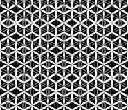 传染媒介黑白花无缝的样式,背景 免版税库存照片