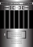 传染媒介盖子设计的例证集合 免版税图库摄影