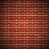 传染媒介砖墙 免版税库存图片