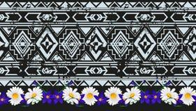 传染媒介种族无缝的样式美国传统装饰品 库存图片