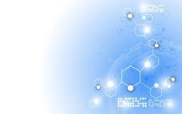 传染媒介科学创新摘要背景 免版税库存照片